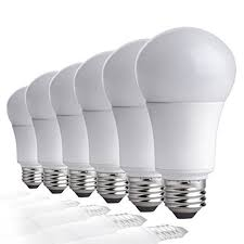 led light bulbs for enclosed fixtures led light for enclosed fixtures amazon com