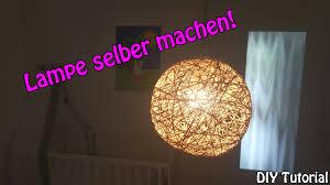 design selber machen lampe lampenschirm selber machen basteln für anfänger diy