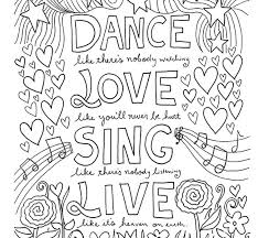 coloring page quotes inspirational quotes coloring pages ideas inspirational quotes