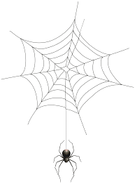 halloween spider clipart black and white transparent spider cliparts clip art library