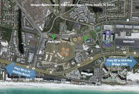 Map Of Destin Florida by Playing Facilities