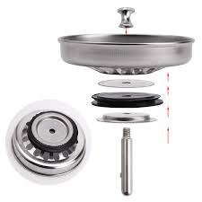 bouchon d evier cuisine 1 2 filtre évier bouchon évier filtrer déchet métal pr lavabo