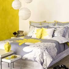 bedroom splendid cool and elegant grey yellow bedroom for sweet