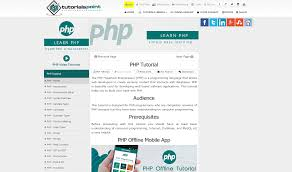bootstrap tutorial tutorialspoint what websites are the best to learn php