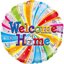 welcome home balloon bouquet welcome home helium balloon uk delivery by the welcome home uk
