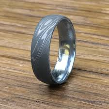 damascus steel wedding band stainless damascus steel wedding band titanium buzz