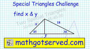 30 60 90 Triangles Worksheet Complex Special Triangles 45 45 90 30 60 90 Similar Triangles