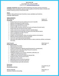 Best Bartender Resume by Accounts Payable Specialist Resume Sample Free Resume Example