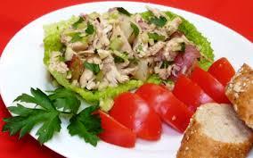 keep dinner light with this chicken potato salad lifestyle