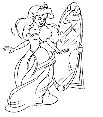 impressive princess coloring pages cool galler 6289 unknown