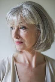 grey hair dos short haircuts for older women with thin gray hair