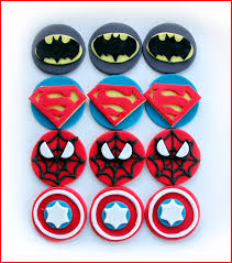 marvel cake toppers cupcake toppers sweet things
