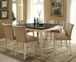Counter Height Dining Room Table Sets by White Round Counter Height Dining Table Ellinger 5 Piece Counter