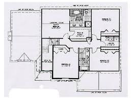 big house plans colonial style two story house plan big sky i