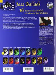 si e auto r er jazz ballads 16 jazz ballads for piano 16 jazz