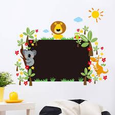 aliexpress com buy kindergarten chalkboard wall sticker