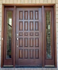 Main Door Flower Designs by Interior Impressive Front Porch Design Ideas Using Mahogany Wood