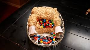how to make a rice krispies turkey