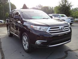 lexus suv for sale charlotte nc used 2013 toyota highlander 4wd v6 limited for sale charlotte nc