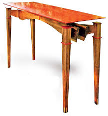 floating table floating top table canadian woodworking magazine