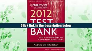 free pdf download wiley cpa exam review 2012 test bank 1 year