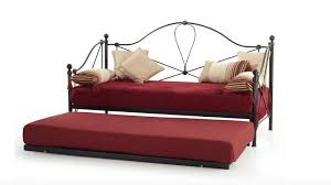Single Metal Day Bed Frame Buy Serene Lyon 3ft Single Metal Day Bed Frame Only Bedstar