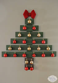 wall christmas tree creative wall christmas tree designs you can diy o