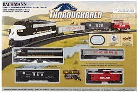 buy bachmann trains ho scale thoroughbred set in cheap price