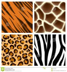 camouflage animal print patterns stock vector image 60198724