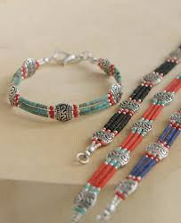 glass beaded bracelet images Delicate glass bead tibetan bracelet jpg