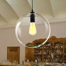 Large Glass Pendant Light Large Glass Ball Pendant Light With Discount Modern Minimalist