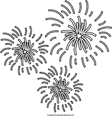 fireworks cliparts black free download clip art free clip art