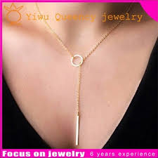 metal necklace designs images 2016 fashion costume designs gold simple necklace metal bar jpg