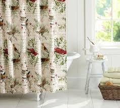 Winter Shower Curtains Winter Themed Shower Curtains Curtains Ideas