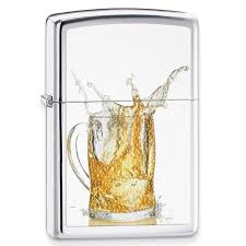 zippo beer themed chrome lighter great gifts for beer lovers