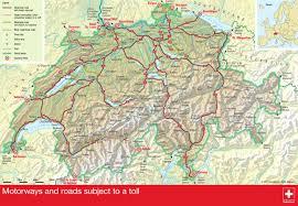 Map Of Switzerland And Italy by Autobahnen Der Schweiz Motorways In Switzerland