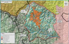 Current Wildfire Map Idaho by Idaho Fire Information Highline Fire Update Sept 6