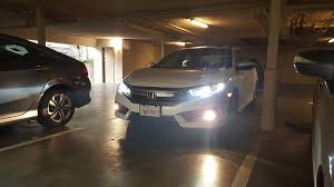 When To Use Parking Lights 2016 Ex T Canbus Ballast 2016 Honda Civic Forum 10th Gen