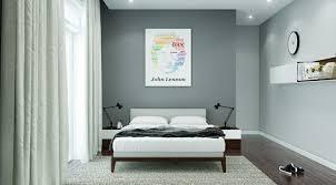 couleur de chambre moderne chambre à coucher moderne 50 idées design