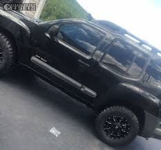 lifted nissan frontier white wheel offset 2007 nissan xterra slightly aggressive suspension