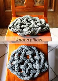 knot a pillow so you think you u0027re crafty