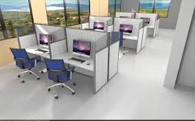 5s dans les bureaux séparateur de bureau au sol panacoustik espace cloison