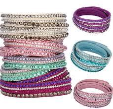 leather bracelet sets images New fashion multilayer wrap bracelets slake deluxe leather charm jpg