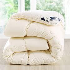 Down Double Duvet Camelhair Warm Winter Wool Quilt Thicken Comforter Duvet Blanket
