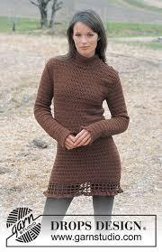 Knitted Chandelier Earrings Pattern Drops 91 27 Free Crochet Patterns By Drops Design