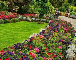 Park Design Ideas Garden Fascinating Flower Garden Designs Extraordinary Colourful