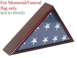 Military Flag Frame Amazon Com Solid Wood Memorial Flag Case Frame Display Case For