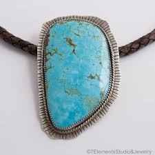 real turquoise pendant necklace images American turquoise pendant necklace very large turquoise cabochon jpg