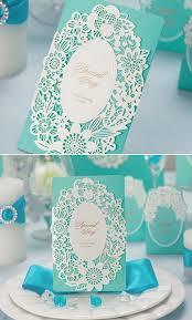 top 10 laser cute elegant wedding invitations tiffany blue