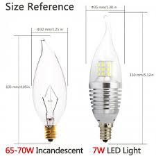 Colored Chandelier Light Bulbs Pack Led Candelabra Bulb 4000k Natutral Daylight Color Afternoon